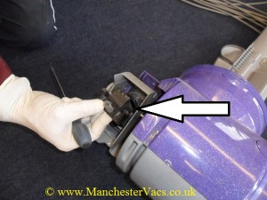 Dyson valve assembly strip down
