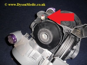 Dyson DC08 motor replacement