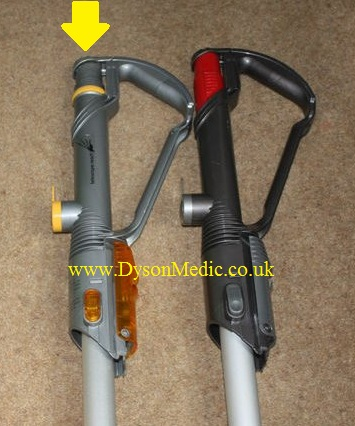 Dyson DC14 wand top collars