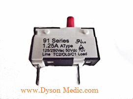 UK DC25 Reset Switch