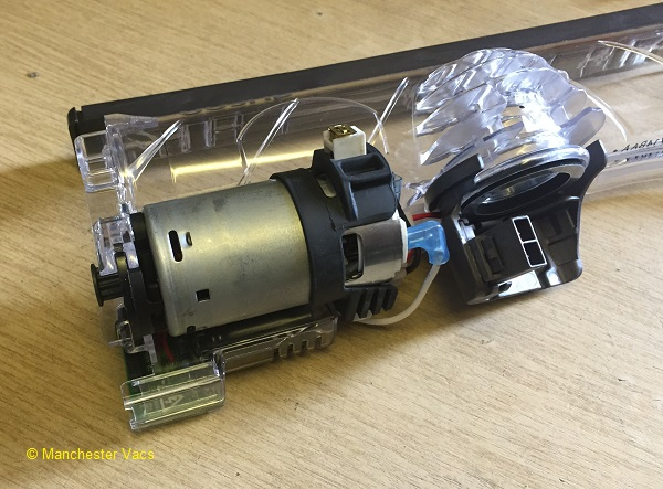 How To Strip Down A Dyson Dc25 Cleanerhead To Change The